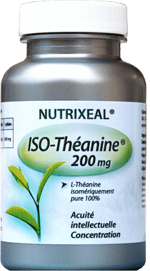 ISOTHEANINE 200 mg  - Nutrixeal - 60 gél.